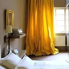 Mustard Colored Curtains Inspiration Mustard Yellow Curtains Yellow Curtains In Bedroom Mustard Yellow