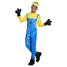Despicable Minion Halloween Costume Despicable Minion Dave Boys U0027 Deluxe Costume Target