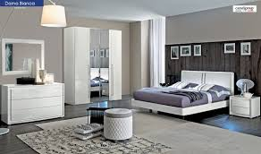 dama bedroom set in white high gloss free shipping get