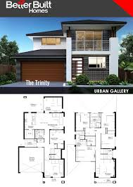 Trinity Custom Homes Floor Plans The Trinity Double Storey House Design 291 61 Sq M U2013 10 35m X