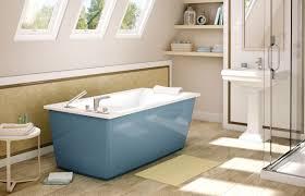 Freestanding Air Tub Bathtub Optik6032f 6 Glacierbluedeco Jpg