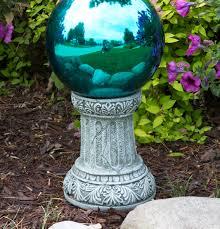 Garden Gazing Globes Sparta Globe Pedestal