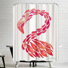 Flamingo Shower Curtains Flamingo Shower Curtain Wayfair Ca