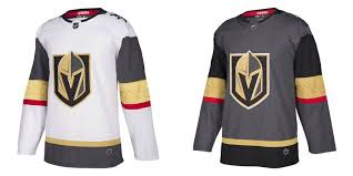 vegas golden knights reveal first home jersey at adidas event