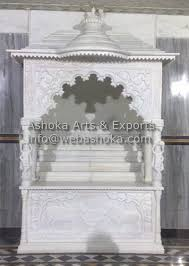 Marble Temple Home Decoration Awesome Marble Pooja Mandir Designs For Home Pictures Decorating