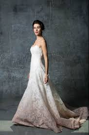 ombre wedding dress ombre sleeves and bare backs fall 2014 wedding gown trends