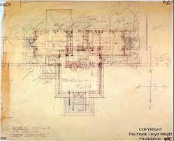 Frank Lloyd Wright Home And Studio Floor Plan A M Johnson Desert Compound Frank Lloyd Wright Designs For An