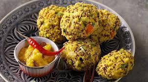 cuisiner quinoa recette de burger végétarien au quinoa et chutney de mangue