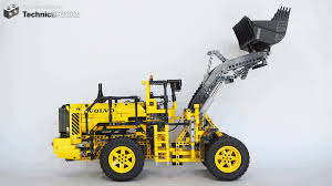 lego technic bucket wheel excavator technicbricks tbs techreview 35 u2013 42030 remote controlled volvo