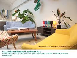 canapé style ée 50 univers habitat marché mobilier une collection capsule pour