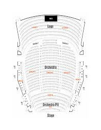 theatre floor plan the mahaffey seating charts