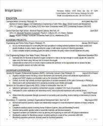Resume Templates For Engineers 31 Professional Engineering Resume Templates Free U0026 Premium