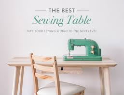 how to make a drop in sewing table the best sewing table take your sewing studio to the next level