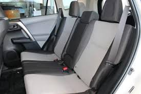 Toyota 60 40 Bench Seat 2017 Rav4 4dr Sport Utility Seat Covers Precisionfit