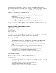 Sample Resume Objectives No Experience by Hairdressing Resume Objective For Hairstylist Assistant Hair