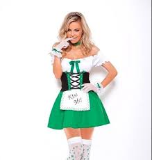 Light Halloween Costumes Irish Halloween Costume 1x 2x 3x 4x Women