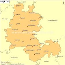 map of rajkot rajkot parliamentary constituency map election results and winning mp