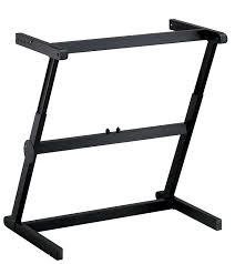 quiklok studio desk quik lok z 71 professional zeenith rapid set up single tier