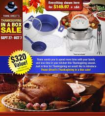 thanksgiving in a box thane canada flavorstone cookware