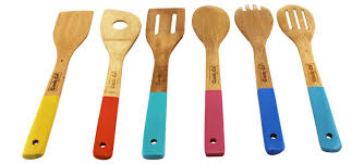 bamboo flatware berghoff cooknco 6 piece bamboo utensil set u0026 reviews wayfair