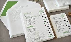 wedding invitations groupon delphine in abbotsford groupon
