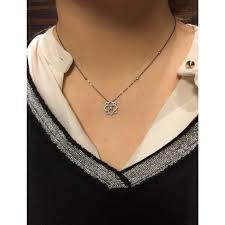 messika necklace eden xs grey white gold ref a107162 instant luxe