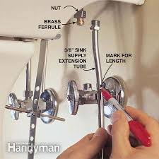 Kitchen Faucet Water Supply Lines Pedestal Sink Water Supply Lines Befon For