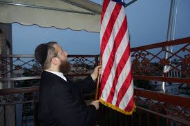 How To Properly Display The American Flag New York Oped Display The American Flag From Every Jewish Home
