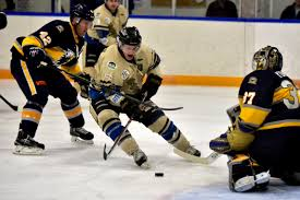 bentley college hockey generals marching to lacombe armchair sports alberta
