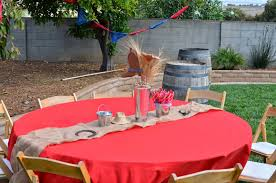 western themed table centerpieces amanda sarver 2014 blog scrapbooking card making crafts