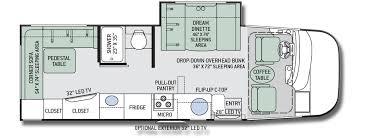motorhome floor plans axis floor plans new thor motor coach axis motorhomes for sale in