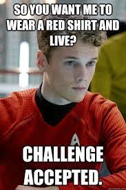 Redshirt Meme - redshirt memes quickmeme