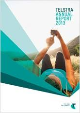 telstra annual reports investors