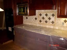 bathroom cute kitchen backsplash using pillowed edge travertine