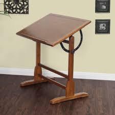 Draft Table Studio Designs Adjustable Angle 36 Inch Wide Solid Oak Wood