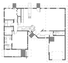 modern house plans contemporary home designs floor plan 03