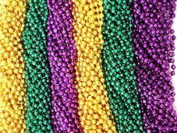 green mardi gras purple green gold mardi gras necklaces party favors
