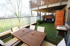 astonishing 2 double bed flat to let in e14 with 30sqm terrace