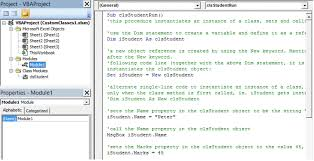 excel vba custom classes u0026 objects class modules custom events