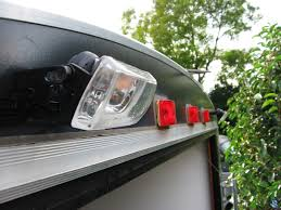 enclosed trailer led lights enclosed trailer build south bay riders
