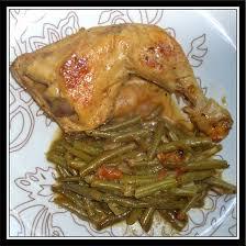 cuisiner des haricots verts surgel poulet haricots verts et tomate fait maison par lilouina