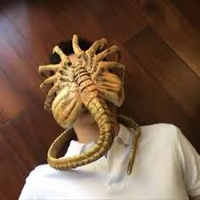 alien covenant replica 1 1 facehugger figure collectible halloween