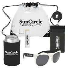4 summer promotional kits for handy brand visibility outdoors