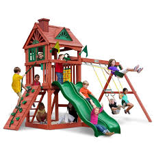 Backyard Discovery Montpelier Cedar Swing Set 8 Best Playsets Images On Pinterest Play Sets Costco And Swing Sets