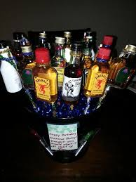 7 best liquor bouquet images on pinterest liquor bouquet basket