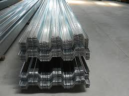 975mm width metal decking sheet galvanized steel deck plate for
