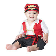Toddler Boy Pirate Halloween Costumes California Collections Boys Polyester Pirate Infant U0026 Toddler