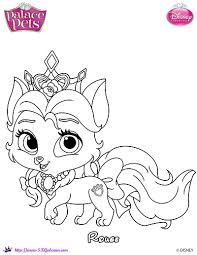 princess palace pet rouge coloring page by skgaleana on deviantart