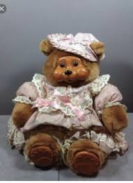 wooden faced teddy bears teddy with wooden collectors weekly