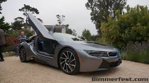 future bmw the bmw i8 pebble beach edition 30th anniversary m5 and bmw